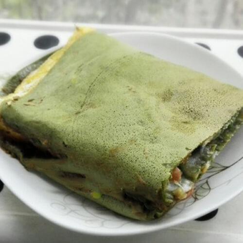 芦笋粉杂粮煎饼