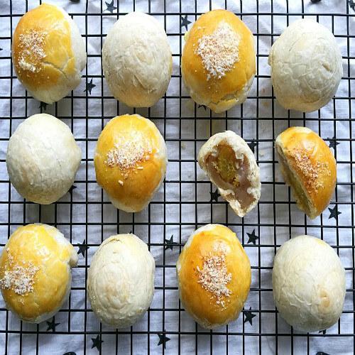 彩色蛋黄酥