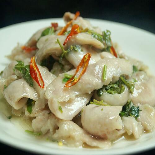 香椿鲈鱼片