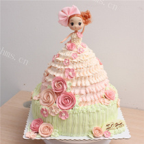 双层迷糊娃娃蛋糕
