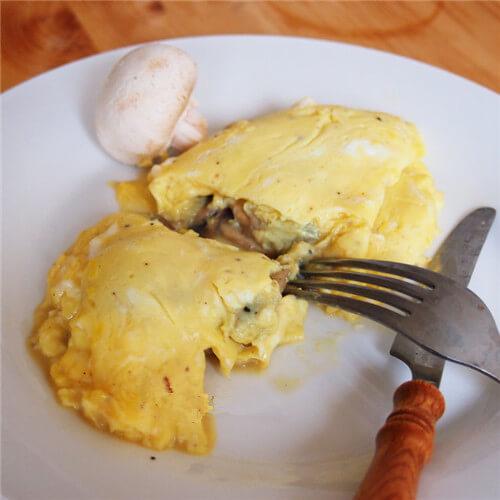 法式鳟鱼西兰花乳蛋饼