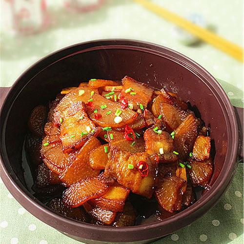 卤香焖萝卜
