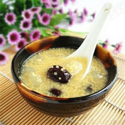梨子小米粥