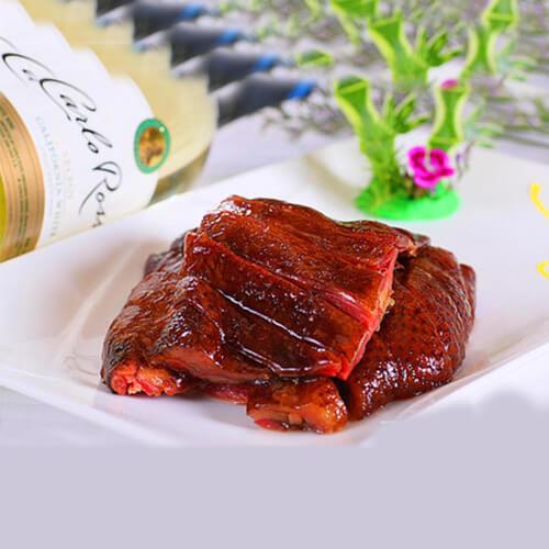 香焖酱油鸭