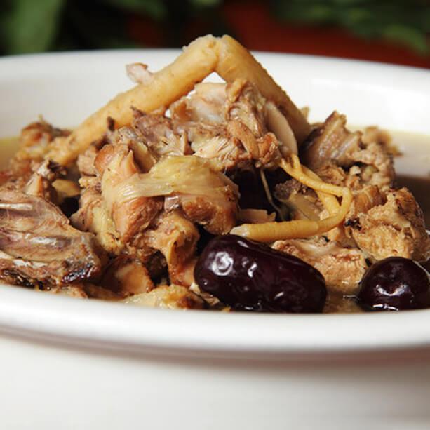 沙参麦冬炖鸡汤