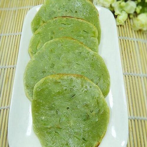 抹茶青梅果饼