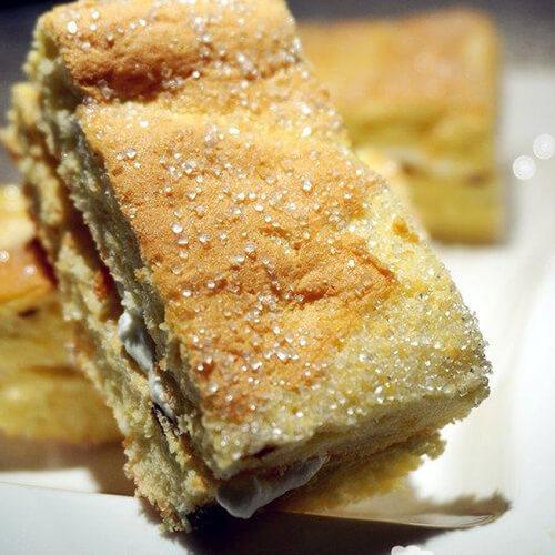 方块西梅蛋糕