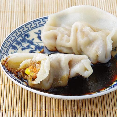 红萝卜马蹄虾仁饺