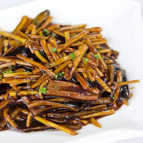 春笋炒鳝丝