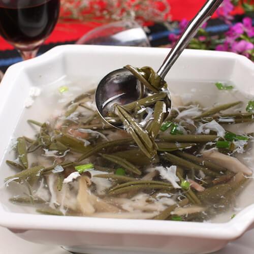 鲈鱼莼菜汤