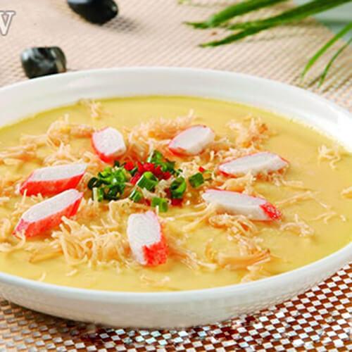 金针菇蟹柳汤