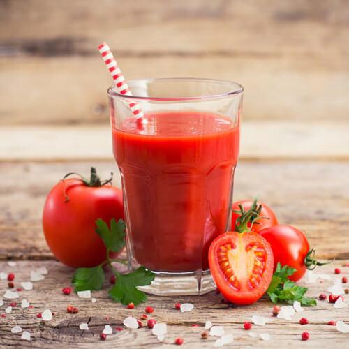 鲜榨葡萄番茄汁