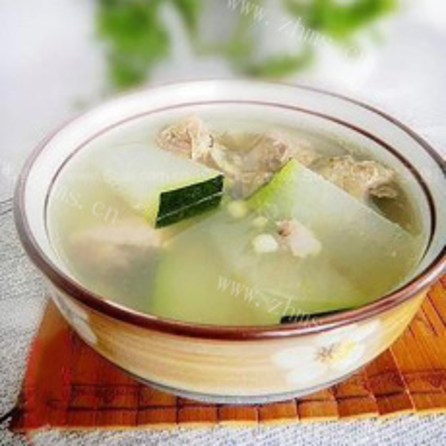 简单易做的排骨冬瓜汤