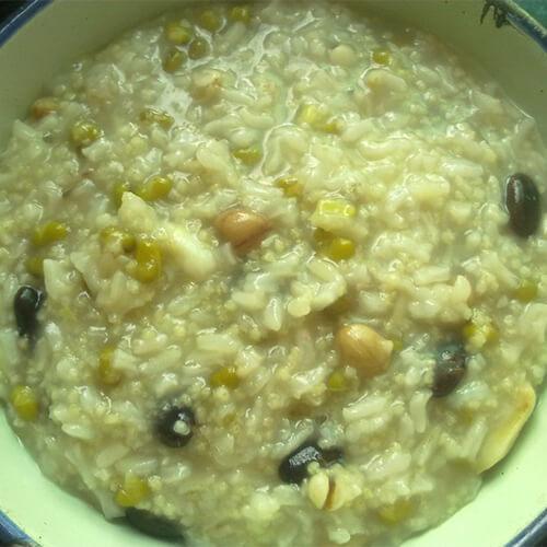 绿豆百合稀饭