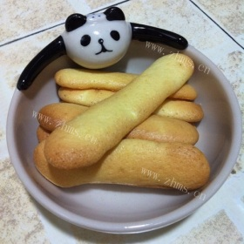 鹅蛋版奶黄手指饼干