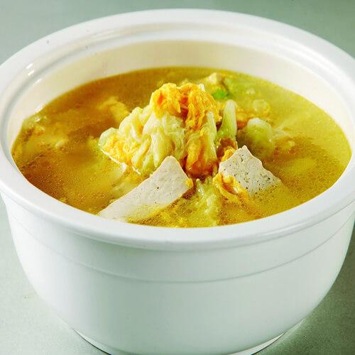 白菜豆腐炖鲳鱼