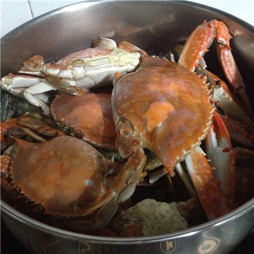 清水煮梭子蟹