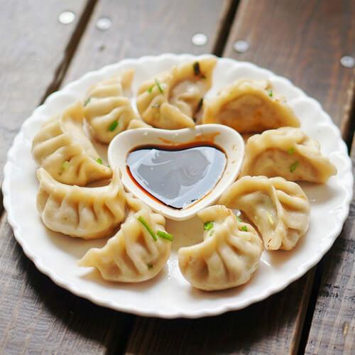 香葱煎饺子