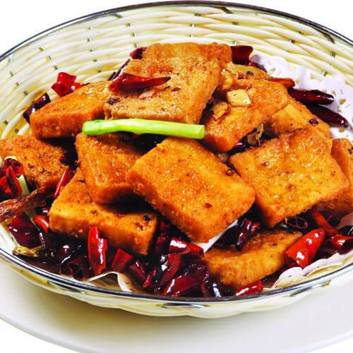香辣臭豆腐