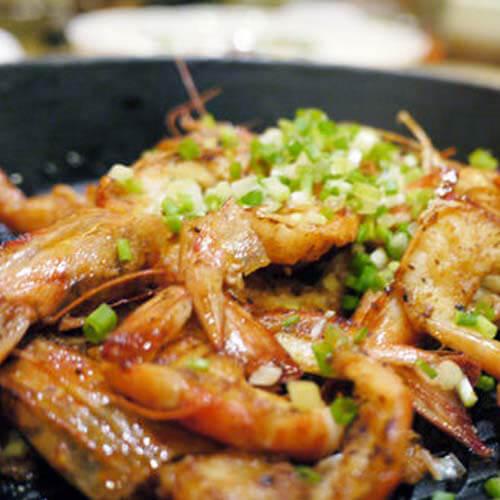 蒜香烧酒虾