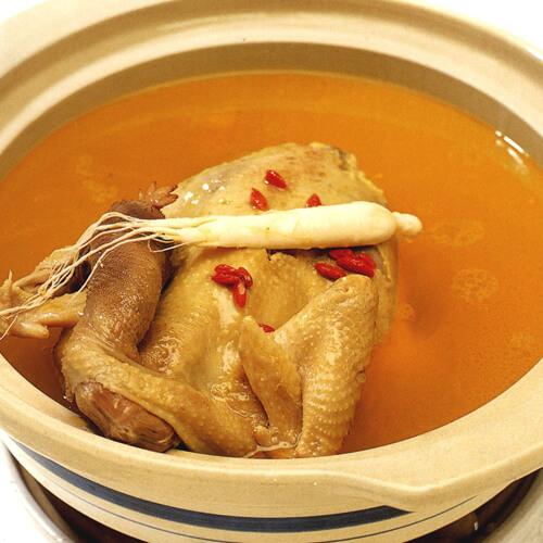 花生胡萝卜鸡汤