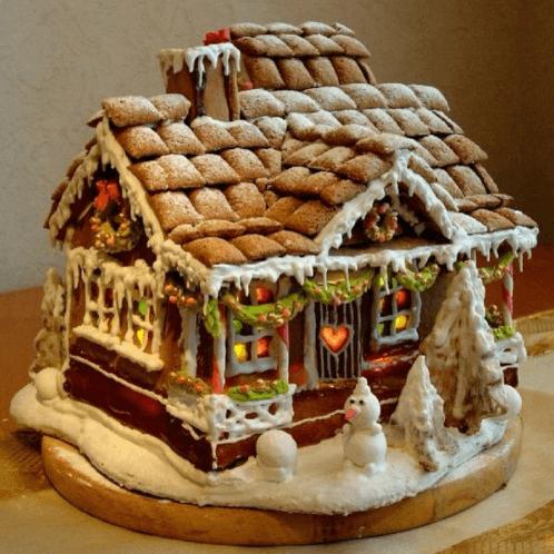 圣诞小姜饼