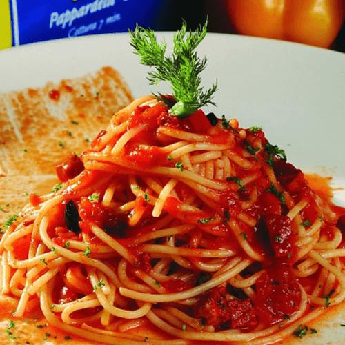 肉酱番茄意面