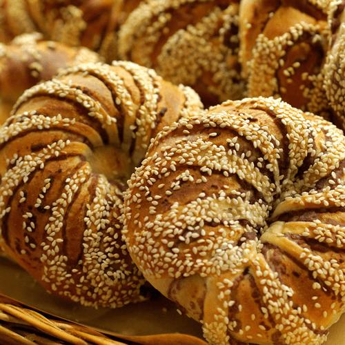 圣诞树千层豆沙面包