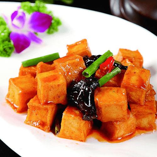 #美食派#红烧豆腐