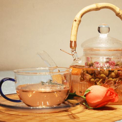 #回忆#玫瑰花茶