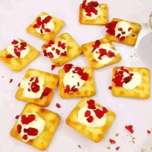 蔓越莓牛扎饼干
