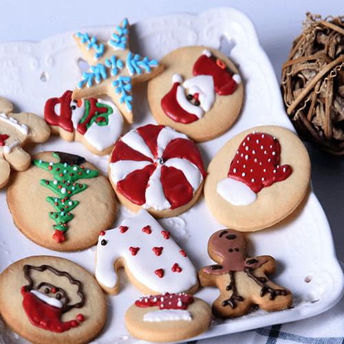 圣诞DIY饼干的做法