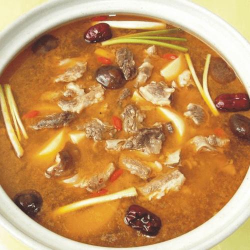 油麦菜牛肉汤