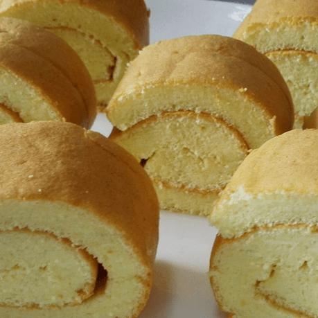 甜蜜的栗子蛋糕卷