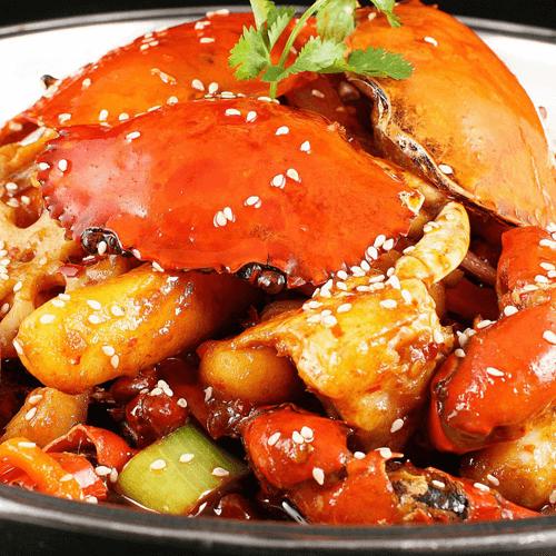 美美厨房之香辣蟹