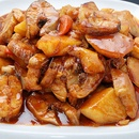 豇豆焖土豆