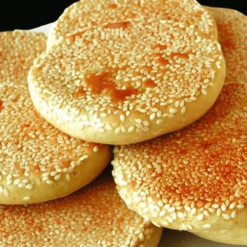 红糖芝麻饼