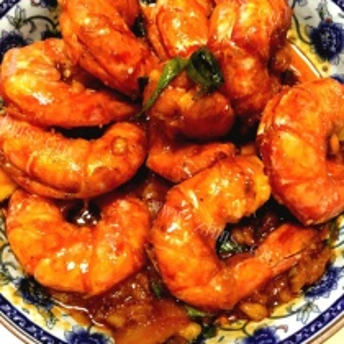 油焖阿根廷红虾