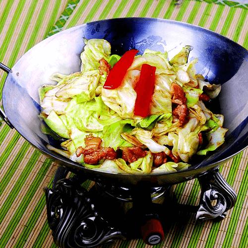 #美食派#干锅包菜