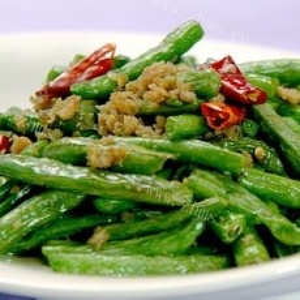 家常菜干煸四季豆