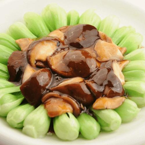 家常香菇青菜