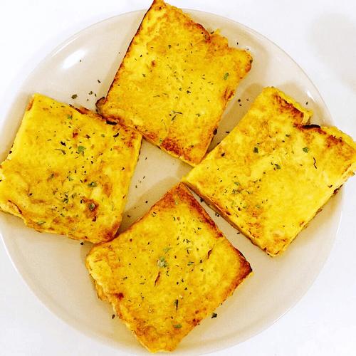 奶香鸡蛋煎吐司