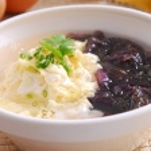 美味紫菜炒米粥