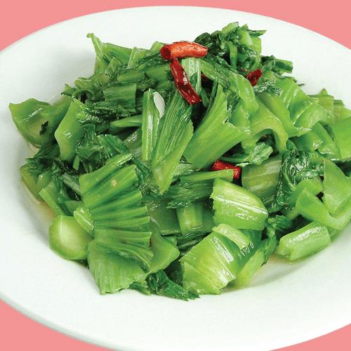 色香味浓的炒青菜
