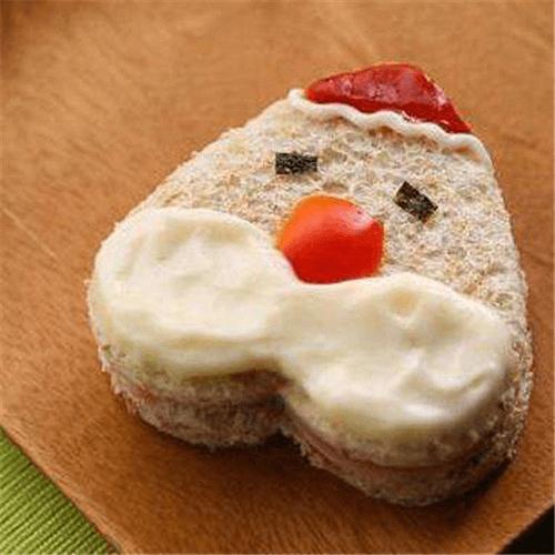 圣诞老人三明治