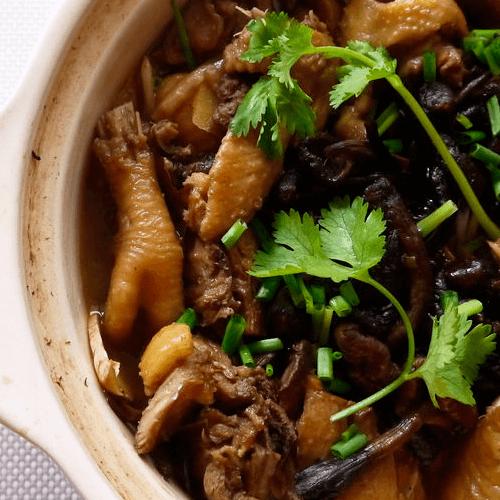 东北菜之小鸡炖蘑菇