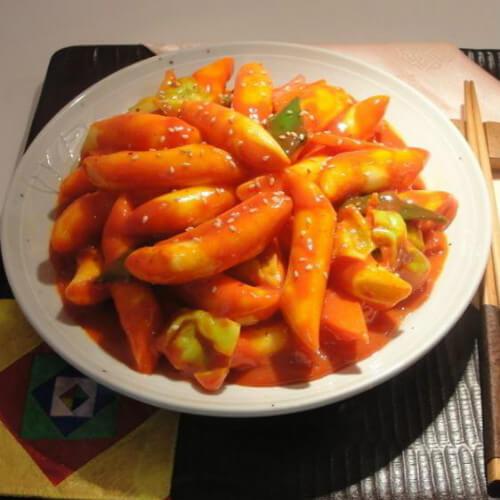 韩国煎年糕