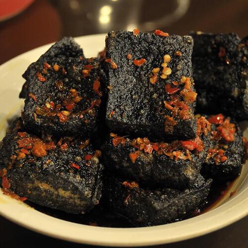 炸臭豆腐串