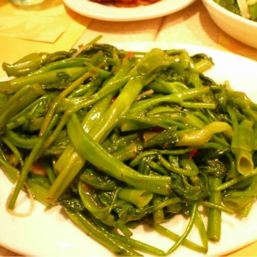 虾酱通菜梗