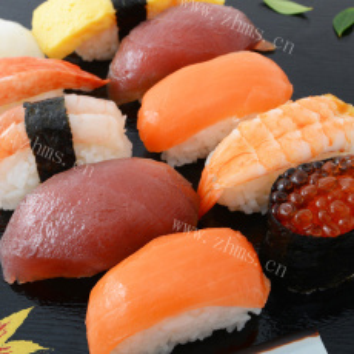 人间美味生鱼片寿司